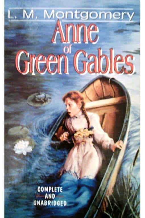 anne of green gables l.m.montgomery