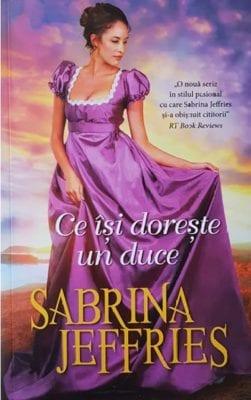 Ce isi doreste un duce Sabrina Jeffries