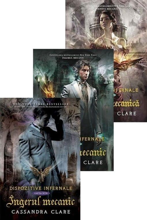 Trilogia Dispozitive Infernale Cassandra Clare