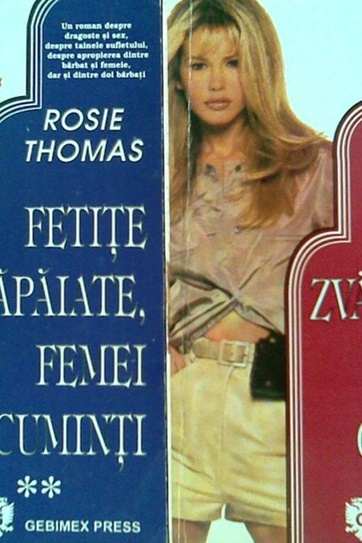 fetite zvapaiate fetite cuminti rosie thomas 2 vol.