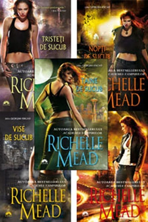 Seria Georgina Kincaid Richelle Mead