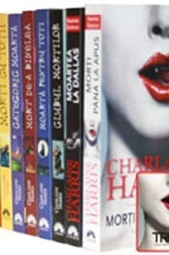 Seria Vampirii Sudului -10 volume Charlaine Harris