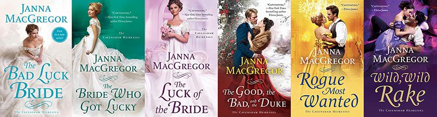 Seria Moștenitoarele Cavensham Janna MacGregor
