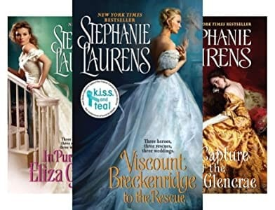 Cynster Sisters Trilogy