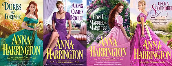 Seria Viața Secretă a Burlacilor Anna Harrington