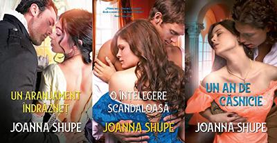 Seria Cei Patru Sute Joanna Shupe
