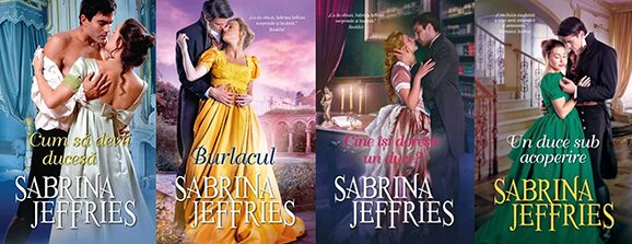 Seria Dinastia Ducilor Sabrina Jeffries