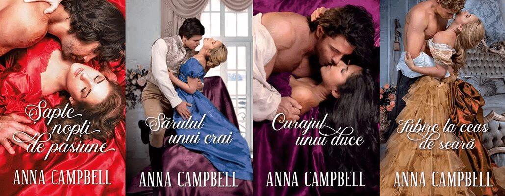 Seria Fiii Pacatului Anna Campbell