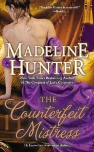 The Counterfeit Mistress Madeline Hunter