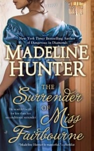 The Surrender of Miss Fairbourne Madeline Hunter