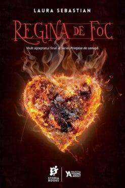 regina de foc laura sebastian storia books
